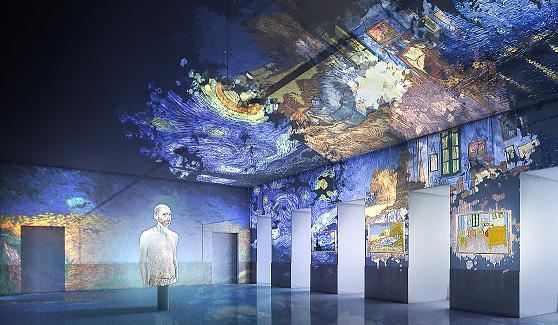 Van Gogh, la mostra immersiva a Salerno